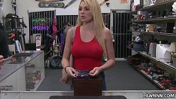 and in bondage toyed babe blonde public gagged Mis dos hijas zorras
