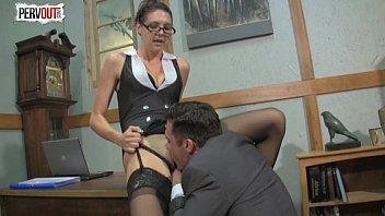boss asian femdom Orgasm sucking breast