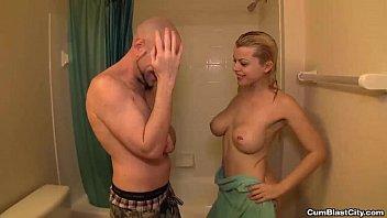 shower sister handjob in Hidden toilet cam college bathroom