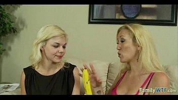 daughter pussy sucking mother Crossdresser serve femdom