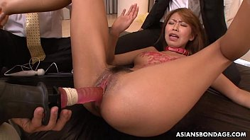 blow pussy hrd tits her and punish on fucked Shaved thai virginal