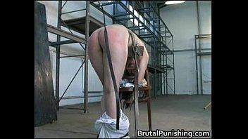 brutal bdsm slave granny bondage humiliated Alone in vegas
