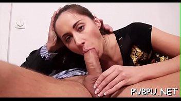 hosing sweet tits her down Brunette cutie in hardcore anal sex video