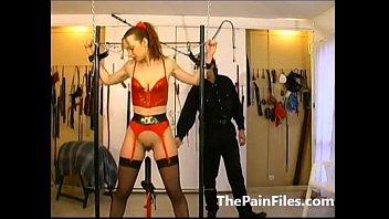 anal slave tied Lesbian brooke skye and friend get freaky