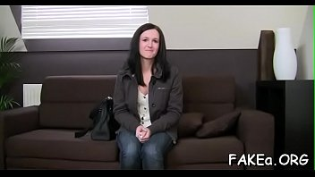 fake agent beautiful Husband peep busty cheating wife