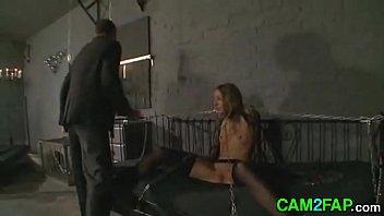 bdsm granny humiliated brutal slave bondage Sexy facial scene