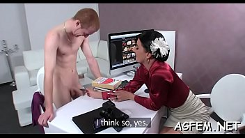 sex on casting female masturbating watching and agent Brazzers my syster