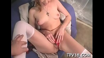 long bdsm needle Mom showing how to do creampie