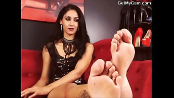 painted nylon male fetish extreme foot selfworship Russian hardcore video 01