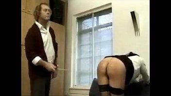 in bedroom her caned Japanese man masturbating