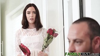 married latex cuckold bride surprise in Innocent young crying