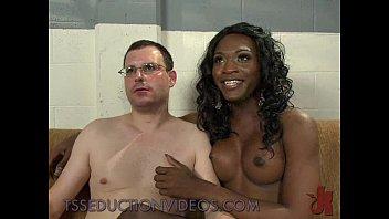 3some tranny bigass black Sexy pickup girl leila plays hot games scene 2