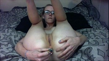 with first wife bbc records very her husband Girl slids along dick without putting it in her