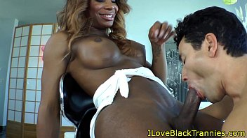 young shemale hung black fucking Old man watche