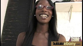 vintage black handjob and white Girl is delighting man with a racy jock chowdown