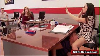 school xxx teacher Skinny wifes first anal creampie with