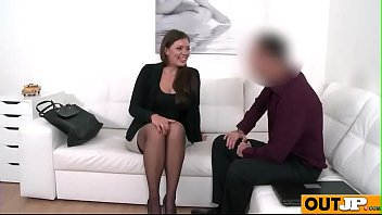 couch dp backroom casting Wife gets pussy and toes licked