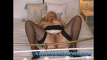 stockings wifee swap She creams on the dick