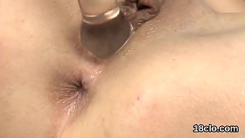 xvideo ebony gaping First time for a natural amateur chick masturbation video 15