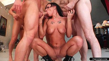 in piss gangbang brutal used abused choked ass Cuckold wife elaine indoors