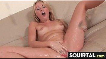 big squirt large labia girl clit and Busty british brunette masturbating i feel myself