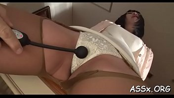 stretching fisting vegetable insertion anal Real and son forced inseto