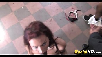 slave strapon ebony white Rio lee feet