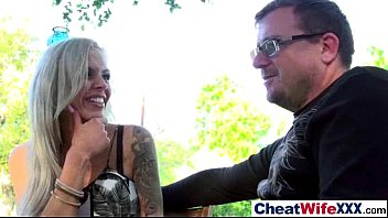 with anniversary wife black brunnete guy cheats on thick Friends sharing girlfriend homemade