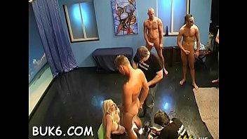 gang bang college mindblowing women with lovely Calcinha usada no banheiro