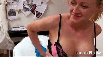 in public cock bdsm big Kinzi jo getting massage free at daddys friend