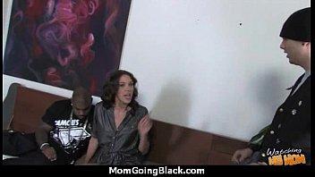 milf boy takes Cuckold granny wife