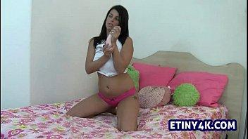 mother alone home with son10 Daniela florez ttl model