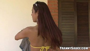 outdoors walking trannies around Mom son porn download