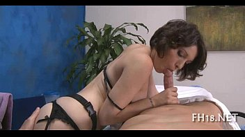 old sexy year time first 16 girl Lidia amateur babe in stockings massaging her beautiful round ass