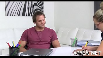on agent female casting sex watching masturbating and Frau fickt tiehr