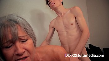 mom son cum Genuine first time threesome