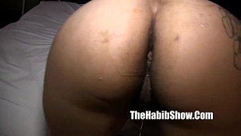 ghetto ass phat Sister in shower handjob