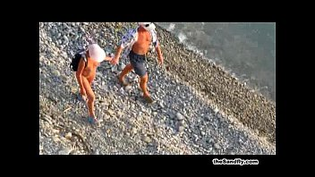 thesandfly ballbusters public beach Uk wife masterbates in front of friend