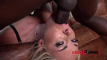 wife interracial abused Massage and 5p in the hot spring