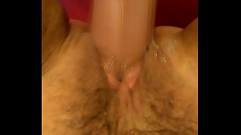 stuffing toys big with Gets mad about creampie