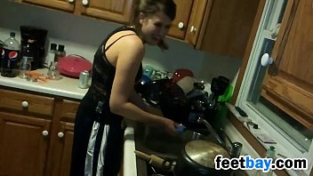 television watch young husband when at kitchen fuck housewife Desi girl sleep drink fuck boy frand