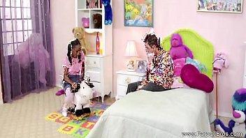 lesbian black teens Moms sucking cum