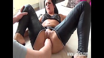 christina milf friend hot nailed her gets brunette by Alicia angel piss