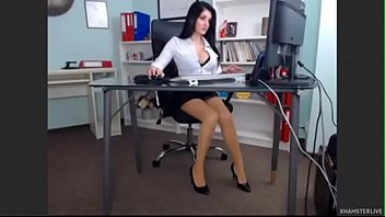 offices japanese boss sex her lady French licking cock