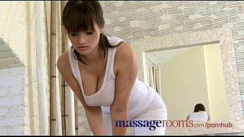 masseuse rubs busty lesbian Big tit stepmom