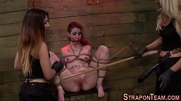 tied slave teen sex Boss give a lesson