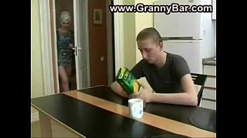 stepmom his by stock stepson Russian feet slave