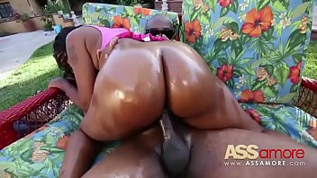 real hard ass big black fucked Black girl dickgirl