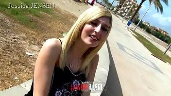 flat 3d chested Girl watch boyfriend fuck