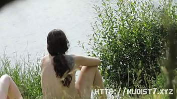 spy beach nudist teen Japanese low esteem wife